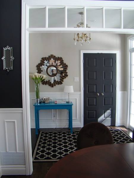 Colors For Front Doors: 30 Black Interior And Exterior Doors Creating Brighter