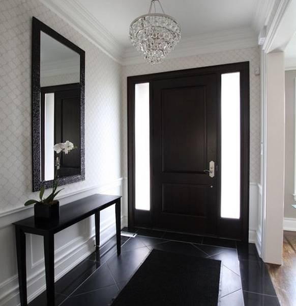 Front Door Entry Ideas: 30 Black Interior And Exterior Doors Creating Brighter