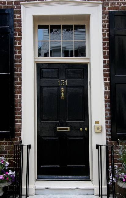 30 Black Interior And Exterior Doors Creating Brighter