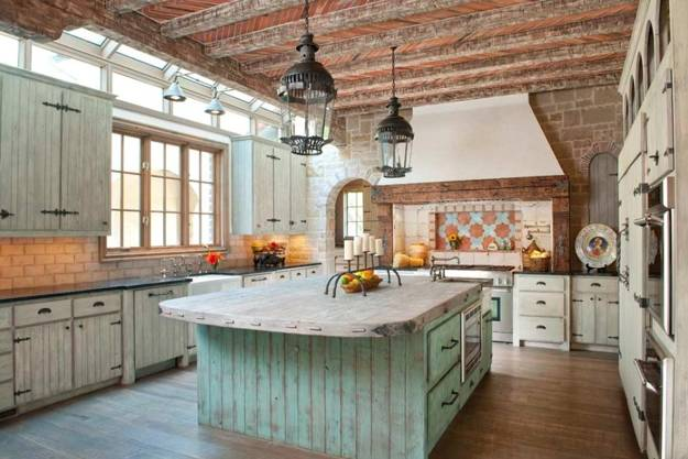 30 Country Kitchens Blending Traditions and Modern Ideas ...