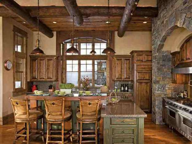 30 country kitchens blending traditions and modern ideas - Country style kitchen cabinets design ...