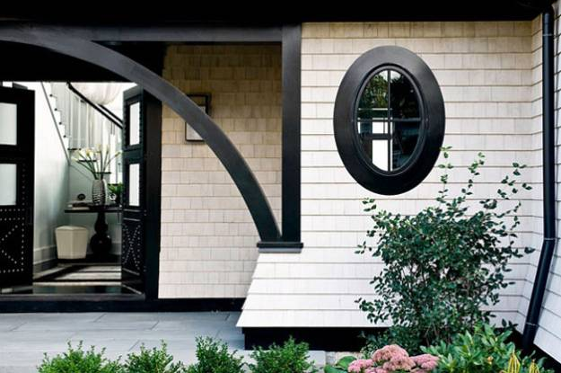 Black And White Decorating Ideas For House Exterior Walls Entry Room Design