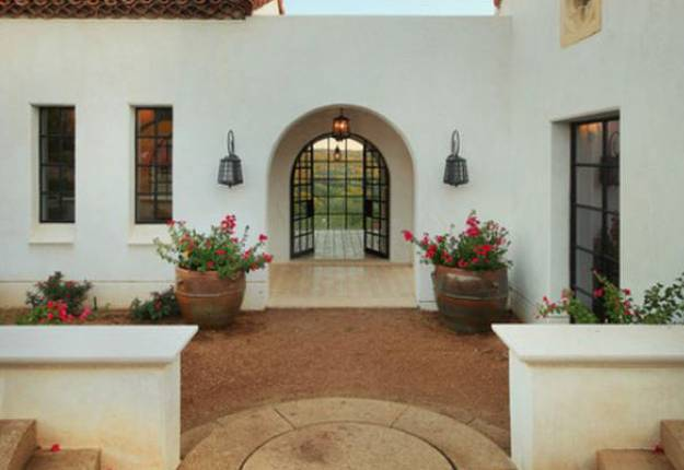 How to create modern house exterior and interior design in for Modern spanish style homes