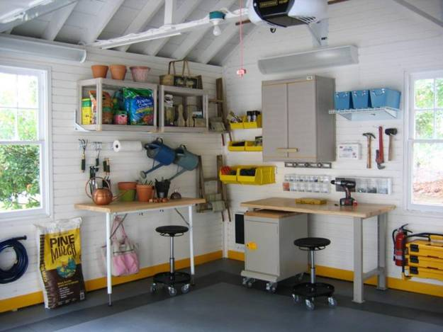 Creative Interior Redesign Ideas For Amazing Garage Makeovers