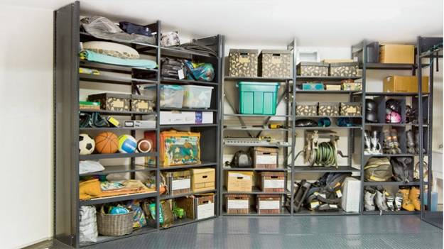 20 Garage Wall Storage Ideas, Space Organization With Storage Shelves And  Racks