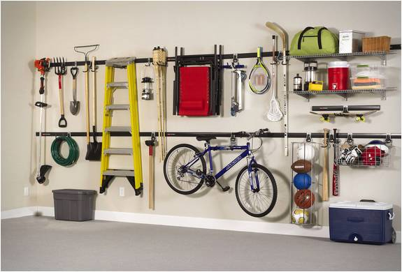 Garage Storage Ideas, Wall Shelves And Racks