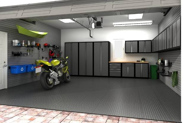 Garage Organization Design Ideas: Garage Storage Systems Increasing Home Values And