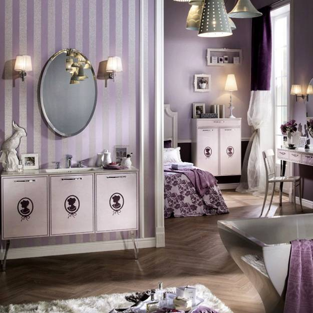 Boudoir Bathroom Design By Delpha Bringing Classic Chic