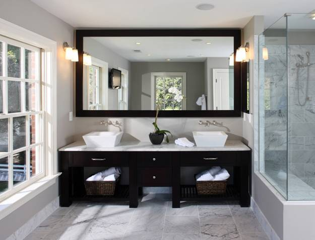 modern bathroom ideas, latest trends in rectangular