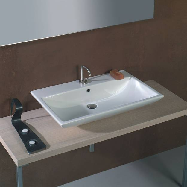 Modern bathroom ideas latest trends in rectangular for Latest bathroom sinks