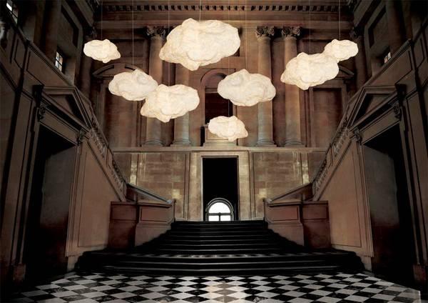 unique lighting fixtures inspired by clouds cloud33 fixtures