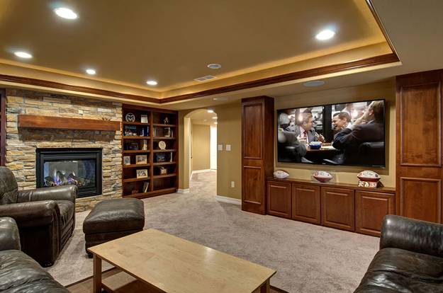 Home Theater Room Decorating Ideas