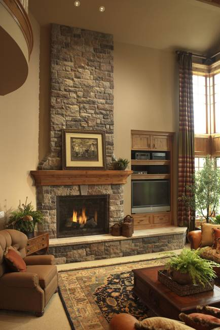 Living Room Fireplace Ideas : 30 Multifunctional and Modern Living Room Designs with TV ...