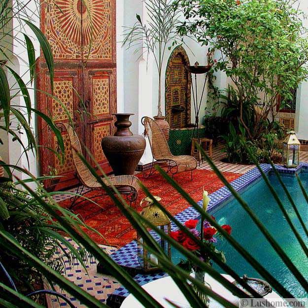Pool Patio Color Schemes