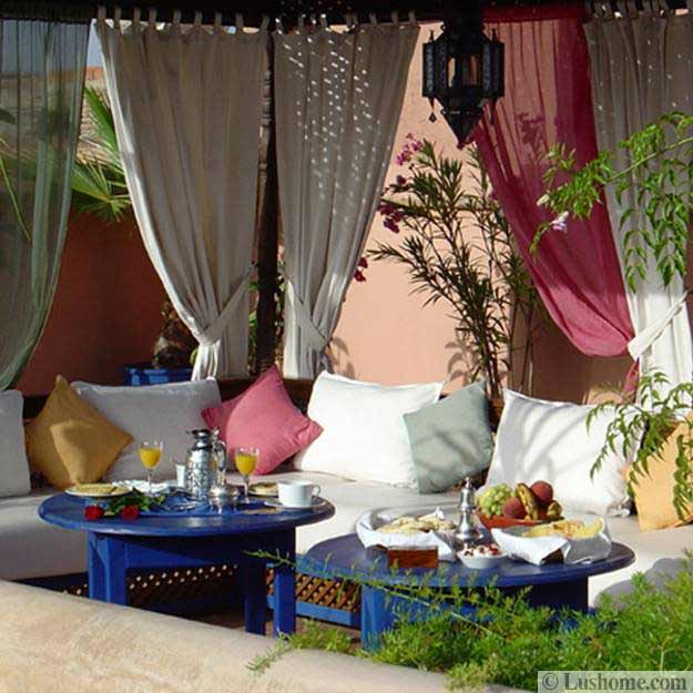 Outdoor Moroccan Decor Design Ideas