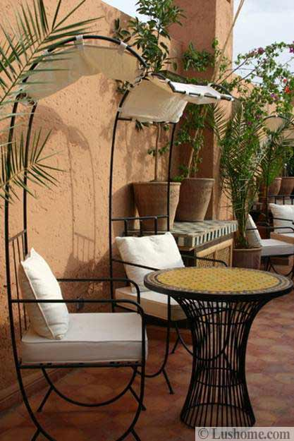Outdoor home decorating and modern ideas in Moroccan style & 20 Moroccan Decor Ideas for Exotic and Glamorous Outdoor Rooms