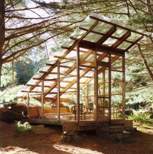 20 Summer House Design Ideas: Using Sun Shelters For Outdoor Daybed Designs, 30 Summer
