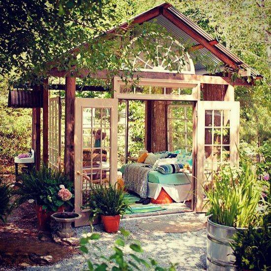 Home Design Backyard Ideas: Using Sun Shelters For Outdoor Daybed Designs, 30 Summer