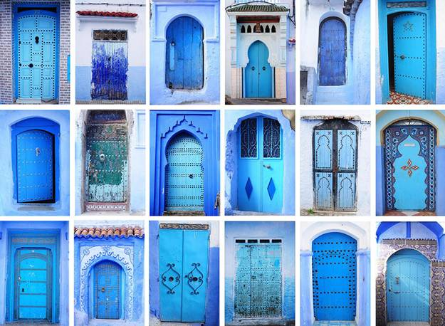 Moroccan Decor And Blue Color Bring Cool Moroccan Style Into ...