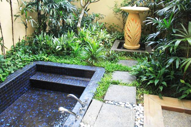 15 Beautiful Outdoor Home Spa Design Ideas