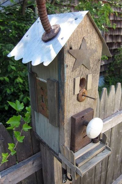 15 Smart Recycling Ideas For Making Unique Birdhouses