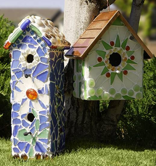 Small Container House Designs: 15 Smart Recycling Ideas For Making Unique Birdhouses