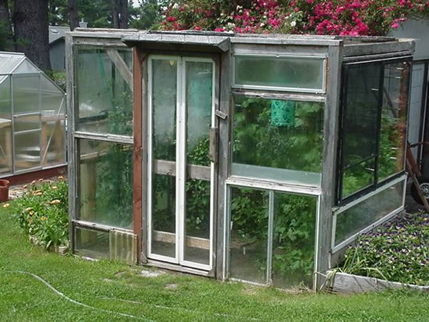 Greenhouse Decor Vintage