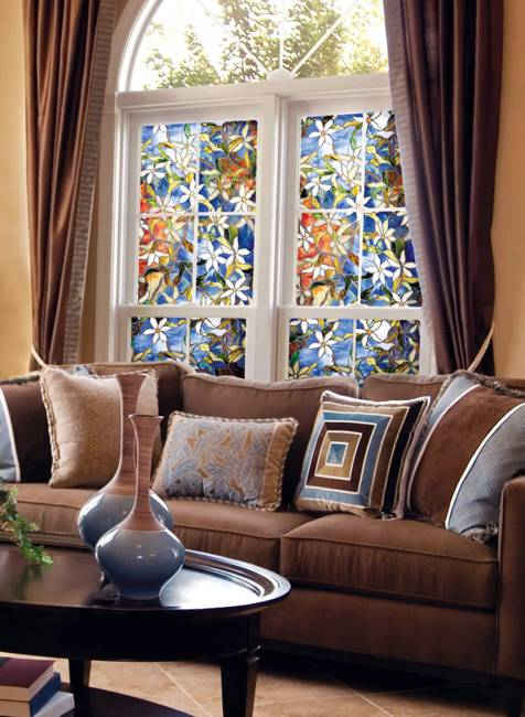 Stained glass painting ideas bringing spectacular colors - Interior painting and decorating ...