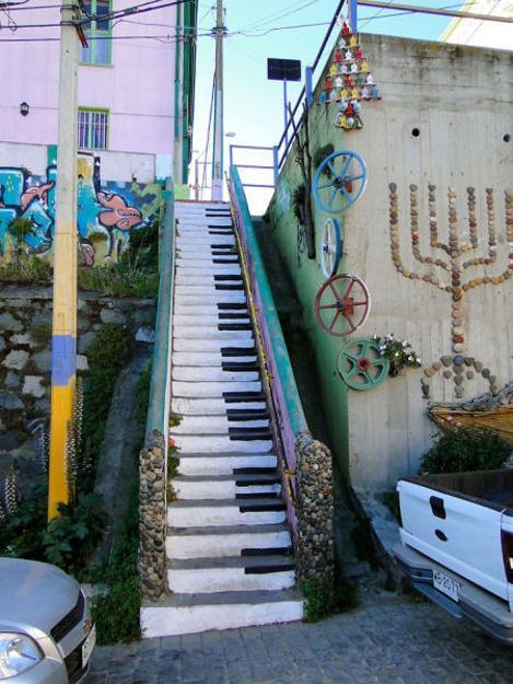 25 Amazing Stairs Brightening Up Streets Around The World