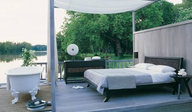 Summer Decorating Ideas For Beds Inviting To Sleep Outdoors