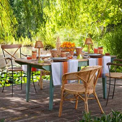 12 Simple Tips For Summer Party Table Setting And Outdoor Home Decor