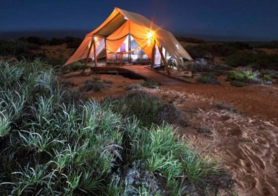 summer cottages and tents for eco friendly summer vacation