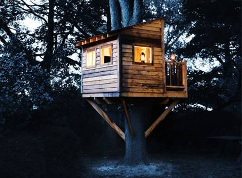 by Ena Russ last updated: 23.07.2014 - 25 Tree House Designs For Kids, Backyard Ideas To Keep Children