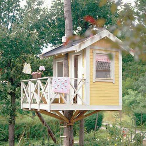 25 Tree House Designs For Kids, Backyard Ideas To Keep