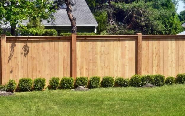C J Fencing Backyard Fences Wood Fence Design Fence Design