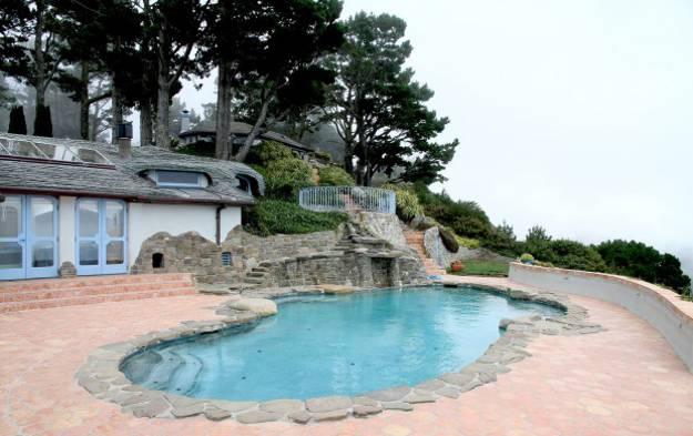 Beautiful Backyard Ideas, Stone Swimming Pool Decorating, Panoramic Views