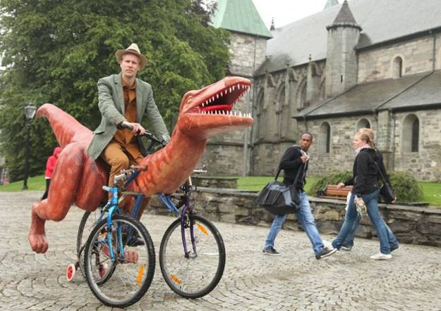 Dinobike Design Idea From Norway