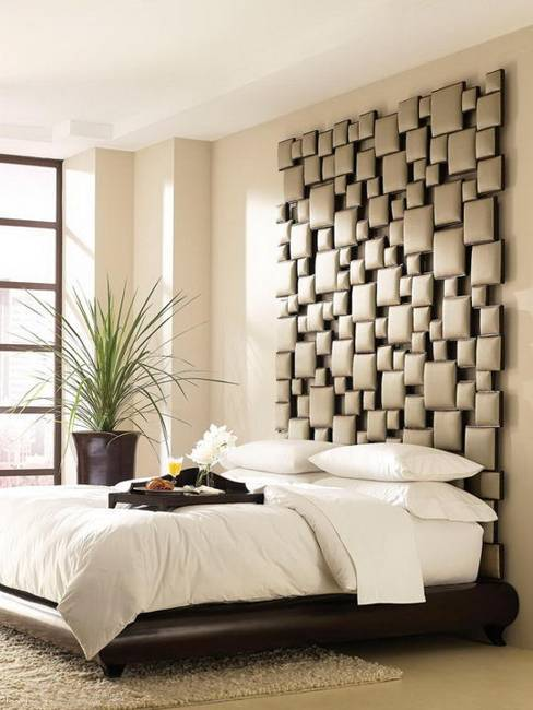 Modern Bed Headboard Ideas And Wall Decorations