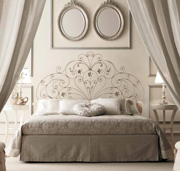 Creative Bedroom Wall Decor Brass Bed Bedroom Design Bedroom Design Black Bedroom Cupboards At Ikea: 15 Interesting Bed Headboard Ideas And Wall Decorations