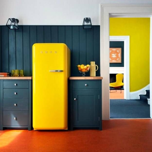 Colorful Decorating Ideas For Modern Fridges