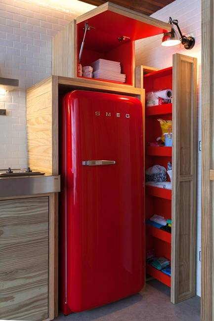 25 Colorful Fridge Ideas Modern Kitchen Appliances In Retro Styles