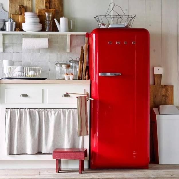 25 Colorful Fridge Ideas, Modern Kitchen Appliances In
