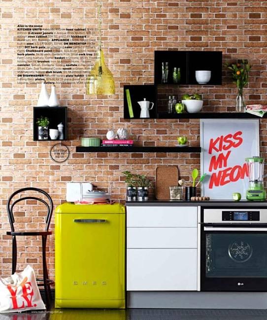 Modern Kitchen Designs 2014: 25 Colorful Fridge Ideas, Modern Kitchen Appliances In