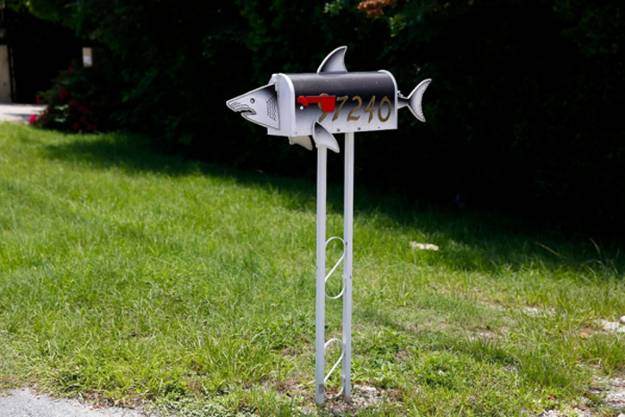 Amazing Design Ideas For Colorful And Artistic Mailboxes