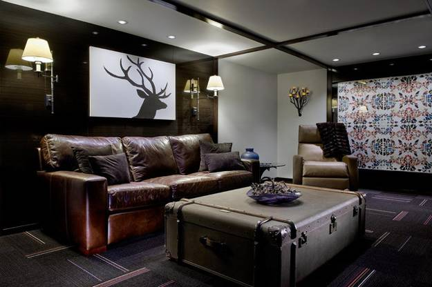 20 Elegant Masculine Interior Design Ideas