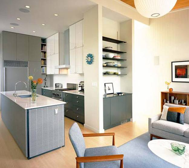 Interior Design Open Kitchen Living Room: Blending Modern Kitchens With Living Spaces For