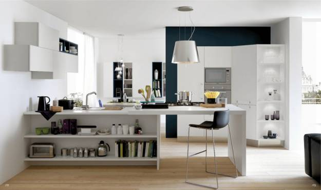 Blending Modern Kitchens With Living Spaces For