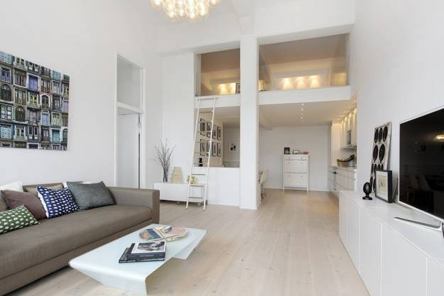 loft conversion design in Scandinavian style
