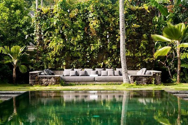 modern home interiors and outdoor living spaces with balinese decor