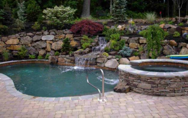48 Creative Swimming Pool Design Ideas Offering Great Inspirations Classy Backyard Design Landscaping Creative